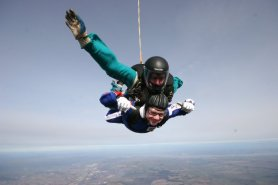 If at first you don't succeed, then skydiving isn't for you.