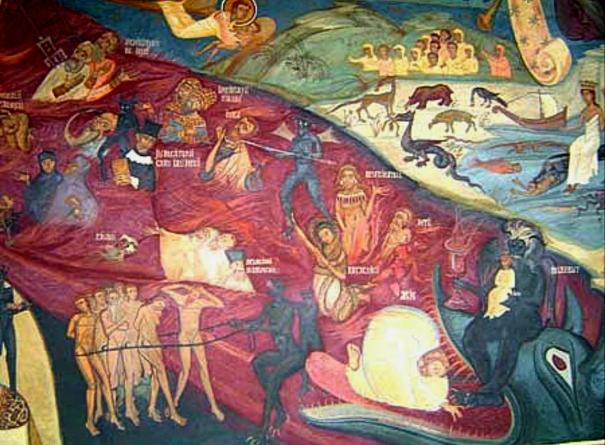 Painting on Ramet Monastery
