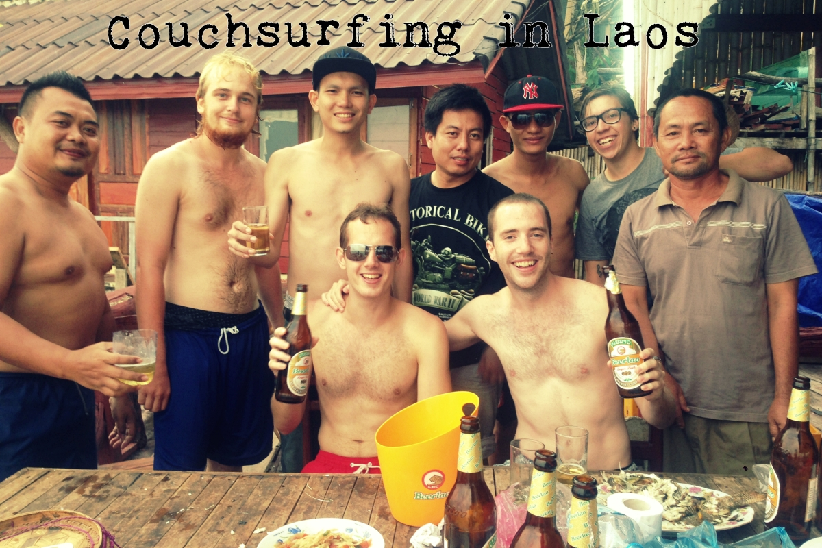 Laos: Couchsurfing in a remote village, Part 1
